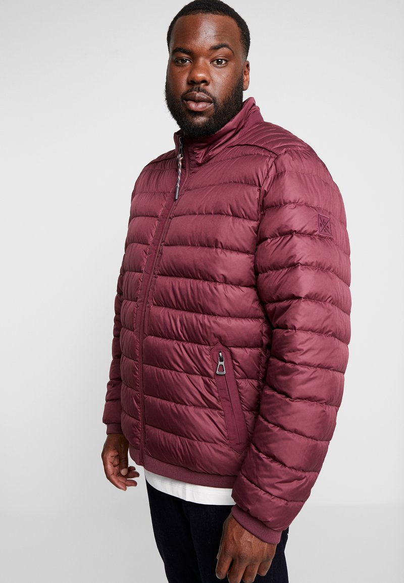 LERROS - LIGHT WEIGHT BLOUSON  - Light jacket - dark berry