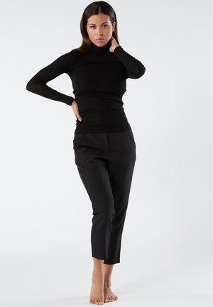 HOSE MIT TASCHEN - Trousers - nero