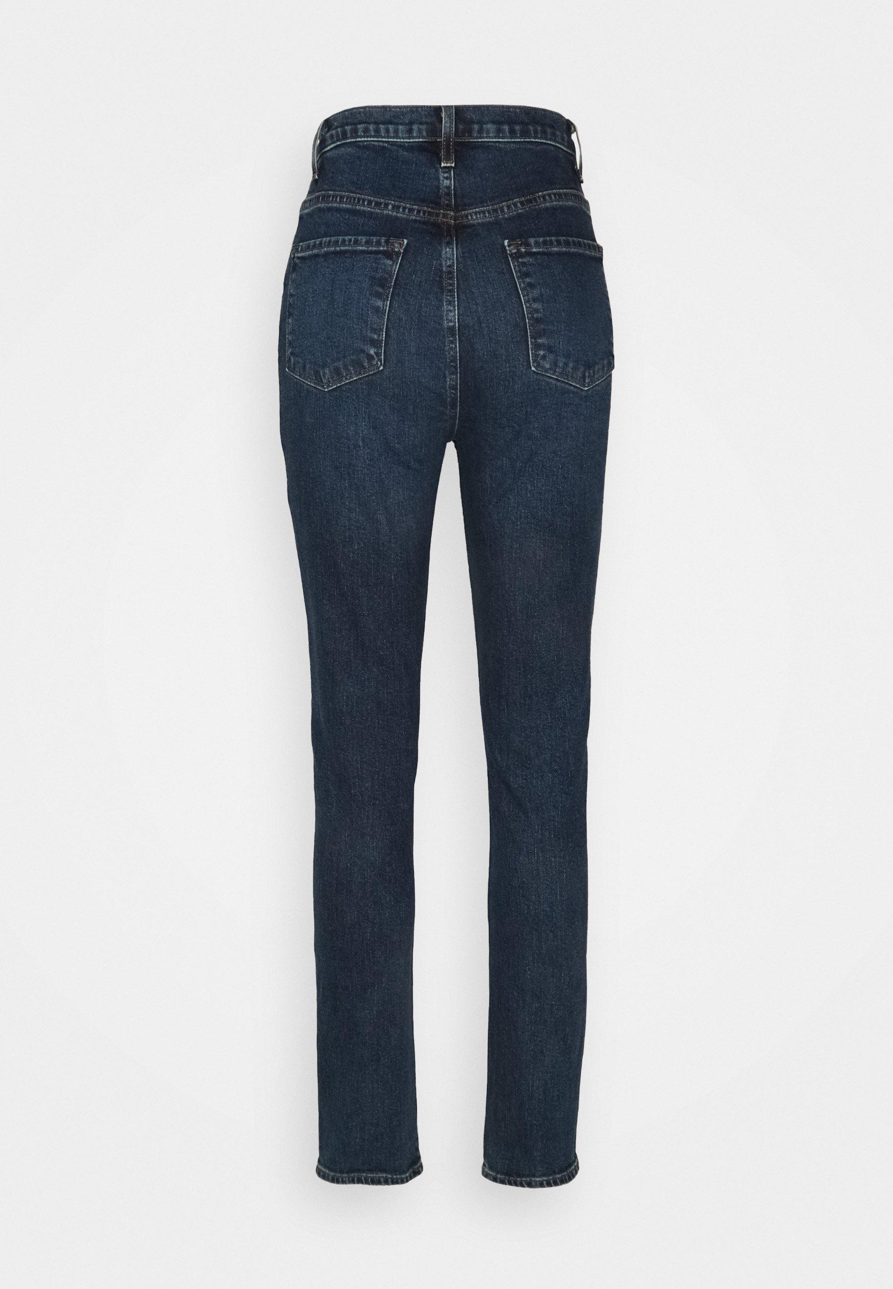 Women RUNWAY HIGH RISE SLIM STRAIGHT - Straight leg jeans