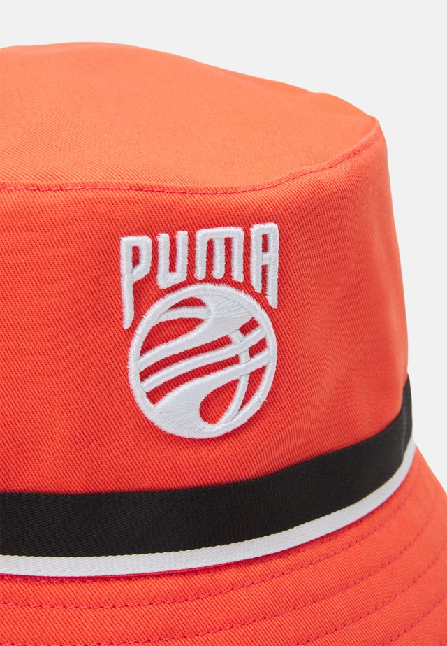 BASKETBALL BUCKET HAT - Chapeau - fiery coral