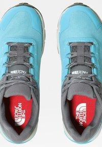 The North Face - EXPLORIS FUTURELIGHT - Hikingschuh - maui blue zinc grey - 4
