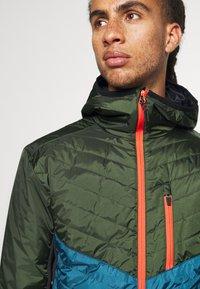 Mons Royale - ARETE INSULATION HOOD - Outdoor jacket - atlantic/rosin - 5