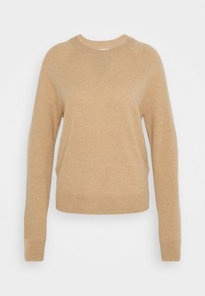 BOSTON O NECK - Sweter - beige