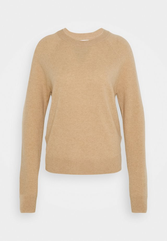 BOSTON O NECK - Sweter - beige
