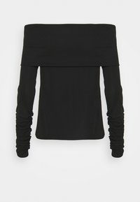 BLANCHE - CARISI OFF SHOULDER - Long sleeved top - black - 6