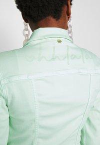 Rich & Royal - JACKET - Denim jacket - jade mint - 5
