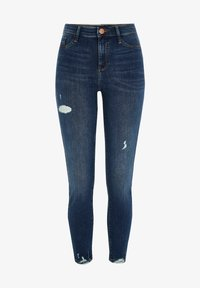 BLUE MOLLY MID RISE RIPPED - Jeans Skinny Fit - blue