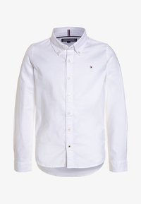 Tommy Hilfiger - BOYS OXFORD  - Overhemd - bright white - 0