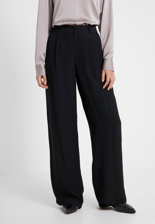 DIAH PANT - Pantaloni - black