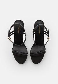Even&Odd Wide Fit - Sandaler med høye hæler - black - 5