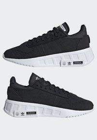 adidas Originals - GEODIVER - Trainers - core black/core black/ftwr white - 7