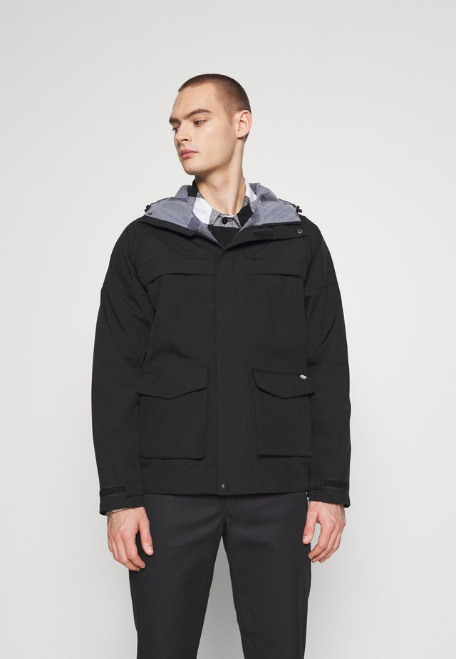 GAPVILLE JACKET - Impermeabile - black