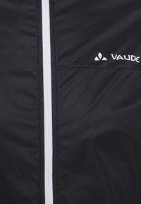 Vaude - MENS AIR JACKET III - Windbreaker - black - 7