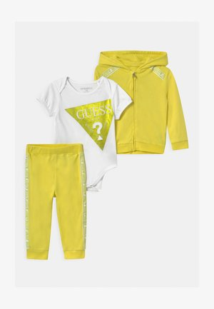 BABY SET - Tracksuit - shiny light green