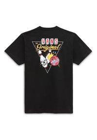 Vans - MN LUCKY SPARE SS - Print T-shirt - black - 1