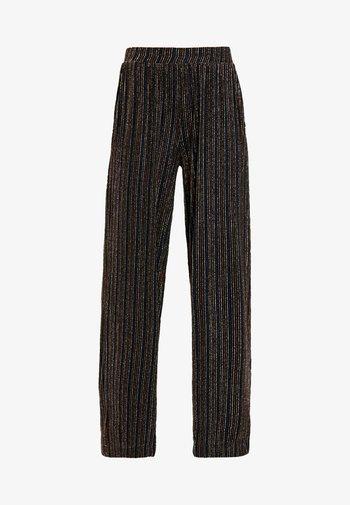 DAITHI TROUSERS - Kalhoty - schwarz/mischfarben