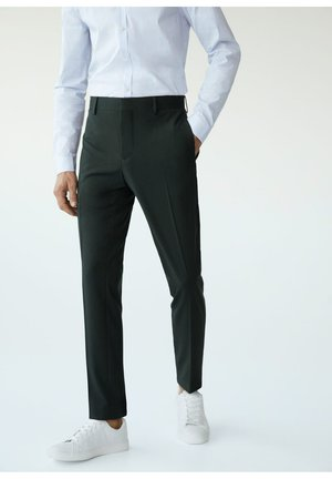 PAULO  - Pantalon de costume - dunkelgrün
