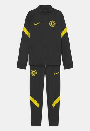 CHELSEA LONDON SET UNISEX - Club wear - black/opti yellow