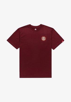 T-shirt print - vintage red