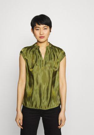 KURZARM - Blouse - deep green