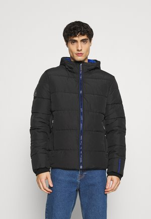 SPORTS PUFFER - Winter jacket - black