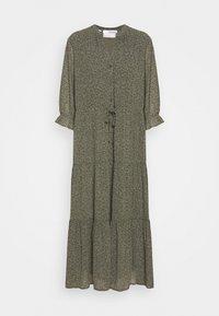 Selected Femme Petite - SLFGAIA-DAMINA ANKLE DRESS  - Maxi dress - carafe - 4