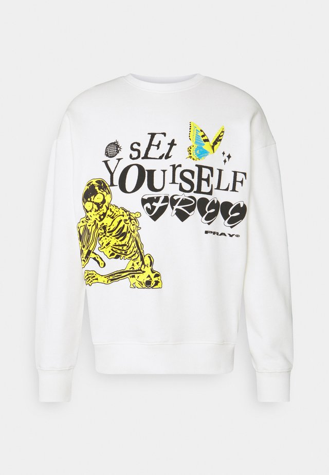 SET YOURSELF FREE UNISEX - Sweater - off white