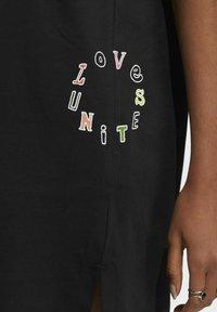 adidas Originals - LOVE UNITES T D - Jersey dress - black - 5