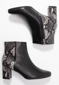 Peter Kaiser Wide Fit - WIDE FIT BABSI - Ankle boots - schwarz glove/carbon - 3