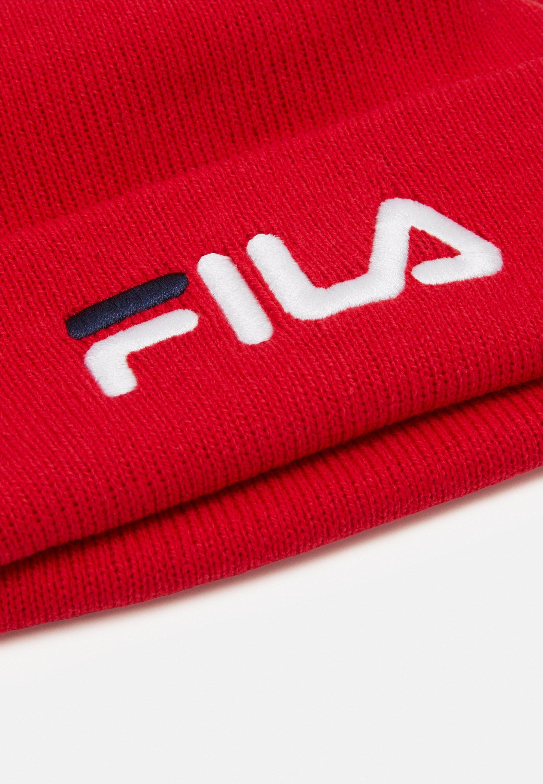 Fila Beanie Leniar Logo - Mütze True Red/rot
