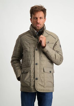 Winter jacket - sepia plain