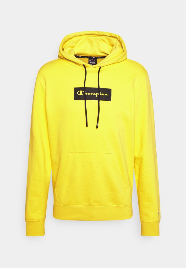 HOODED - Bluza - yellow