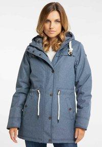 DreiMaster - Winter coat - marine melange - 0