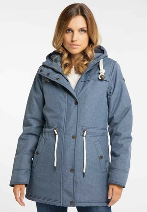 Winter coat - marine melange