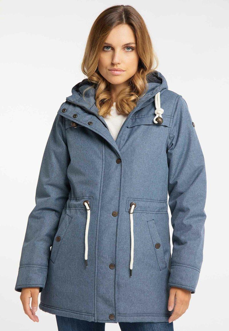 DreiMaster - Winter coat - marine melange