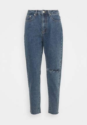 WASHED SINGLE THIGH RIOT - Jeans Tapered Fit - blue