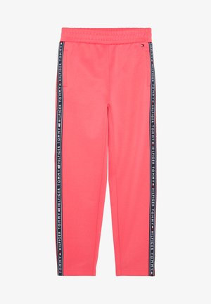 TAPE TRACKPANTS - Pantaloni sportivi - pink