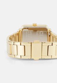 Cluse - LA TETRAGONE LINK - Watch - gold-coloured - 1