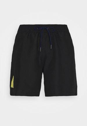 DIRIK SOLID - Shorts da mare - black