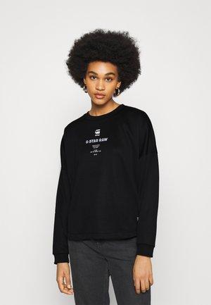 RELAXED - Sweatshirt - black