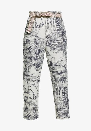 PANT TROPICAL - Trousers - crudo