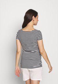 Anna Field MAMA - Camiseta estampada - black/white - 2