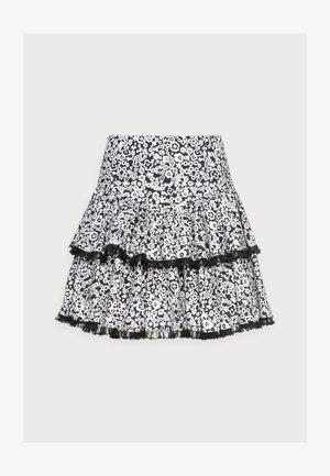 RENNA - Mini skirt - anthracite black