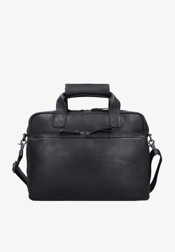 WAX PULL UP GENEVA - Laptop bag - black