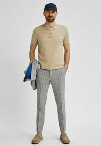 Selected Homme - Stoffhose - light grey - 2
