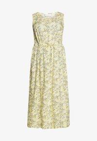 CARBLOOM LIFE MAXI DRESS - Robe longue - pineapple slice/bloom