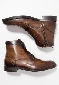 Giorgio 1958 - Lace-up ankle boots - marrone/blu - 1