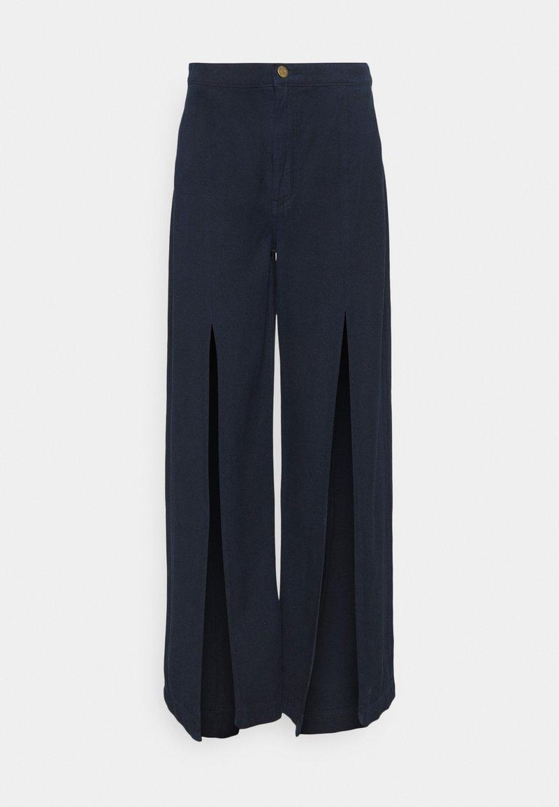 Ética - DEVON - Flared Jeans - navy