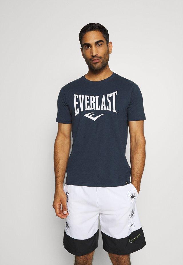 BASIC TEE RUSSEL - T-shirts print - navy
