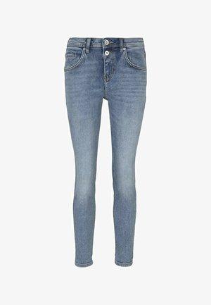 NEW BOYFRIEND  - Jeans Skinny Fit - vintage stone wash denim